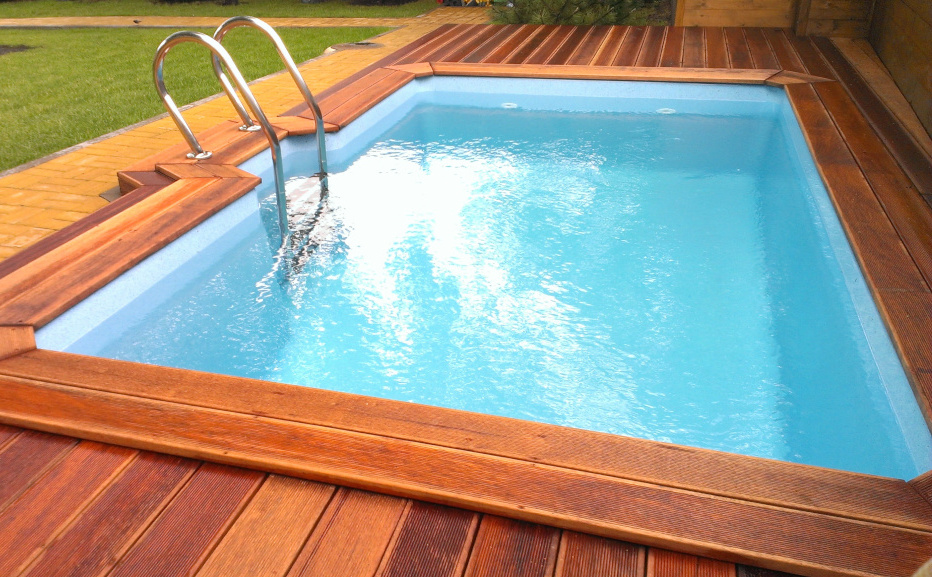 Фото композитного бассейна Руан